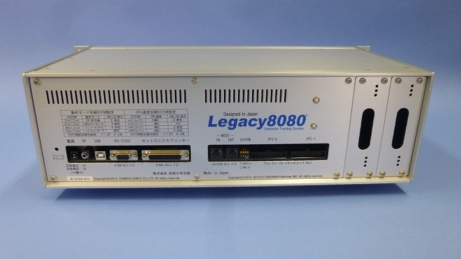 特殊なインクジェットで印刷されたLegacy8080 プラチナモデルのリアパネル